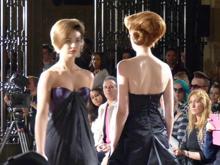 Iconic Hairstyles - London Fashion Week 2014 (2)