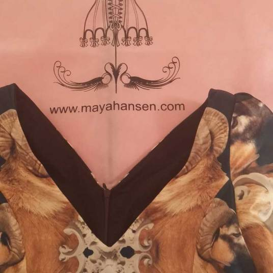 Maya Hansen Gracie Opulanza eyewear prada