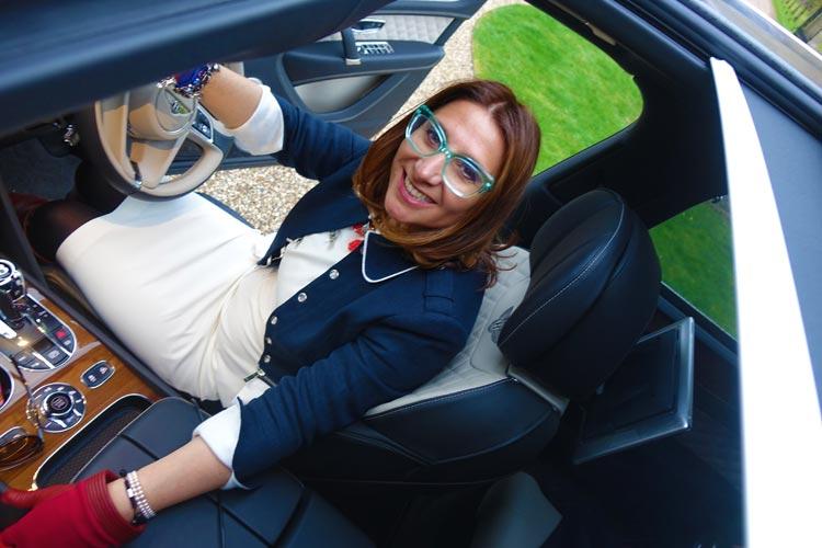 My driving the Bentley Bentayga