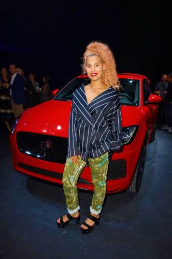 Singer-Raye-at-the-all-new-Jaguar-E-PACE-reveal