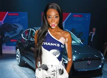 Winnie-Harlow-attends-the-all-new-Jaguar-E-PACE-reveal-(3)