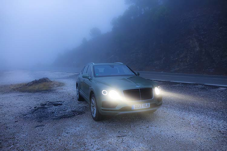 Bentley Bentayga Fog