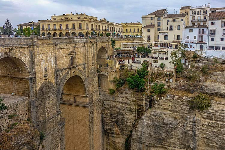 The beautiful bridge of Ronda, Spain