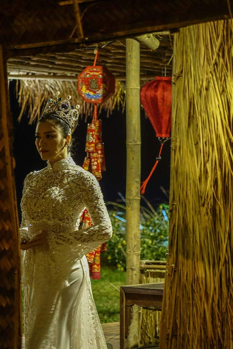 Hoi An Vietnam - Water Front Fashion Show By Night