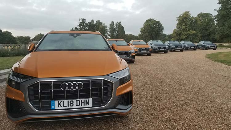 Audi Q8 launch UK