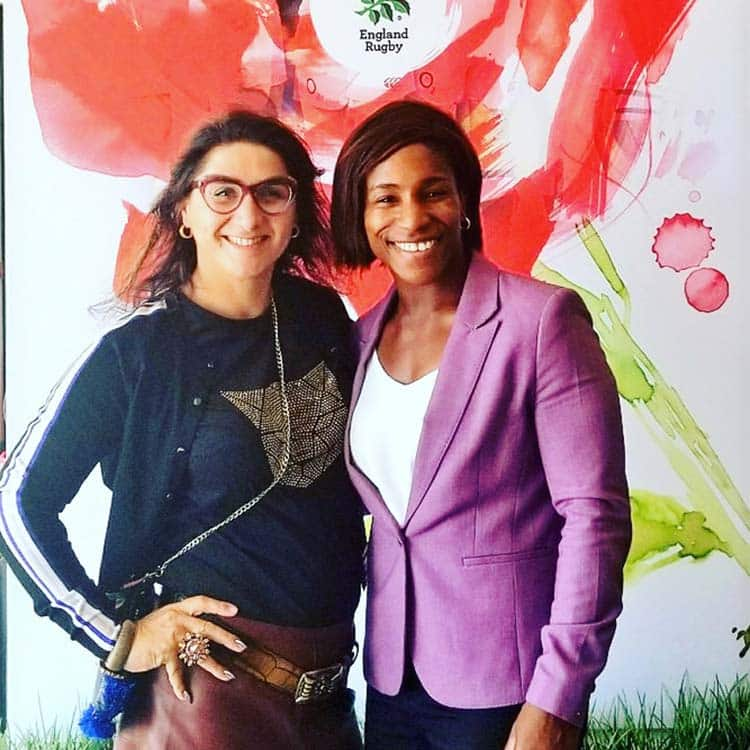 Maggie Alphonsi Rugby - Interview Body Confidence Tips
