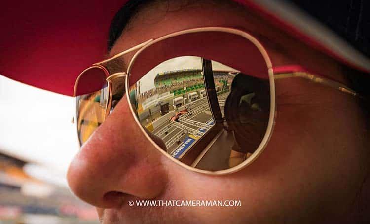 Gracie Opulanza Serengeti Eyewear Le Mans 24h
