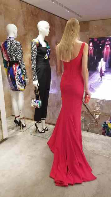 Versace 2018 Catwalk London Gracie Opulanza (2)