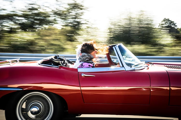 Jaguar UK – Classic Car Track Experience