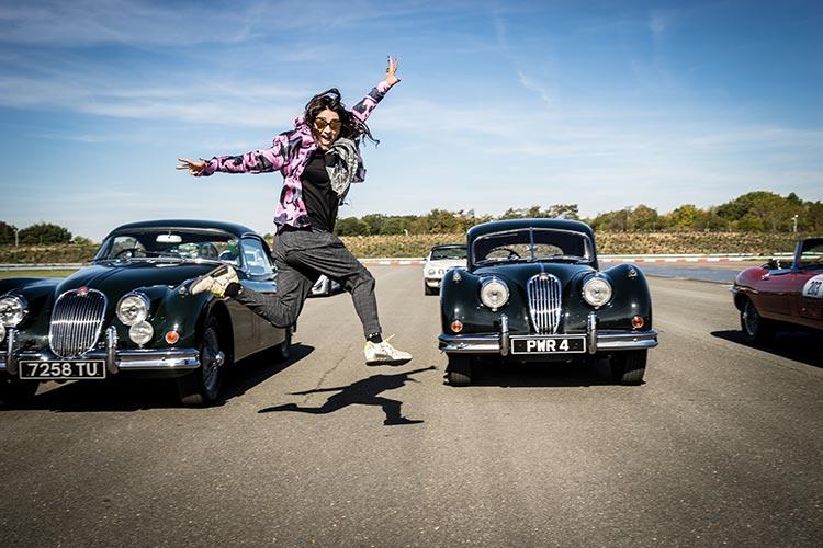 Jaguar UK - Classic Car Track Experience
