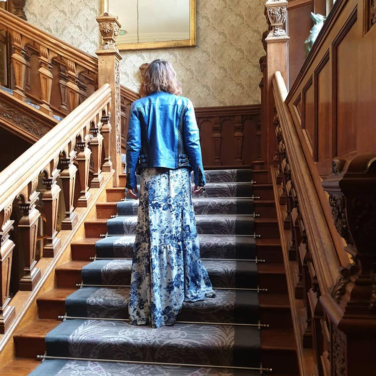 Gracie-Opulanza-Benheart-Leather-Jacket-Florence-Italy-Bovey-Castle