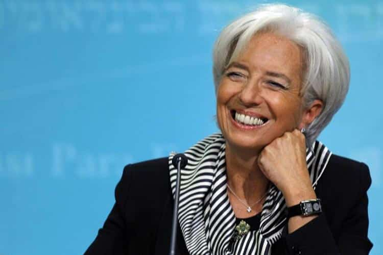 Christine Largarde President of Europeon Bank (2)