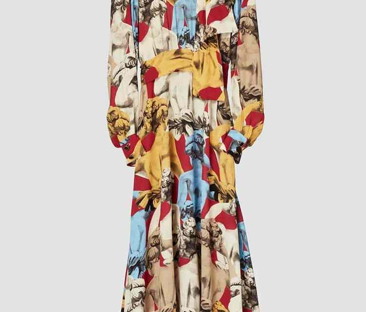 Zara Printed Dress Limited Edition – Sustainable Fashion Is Hard Sell