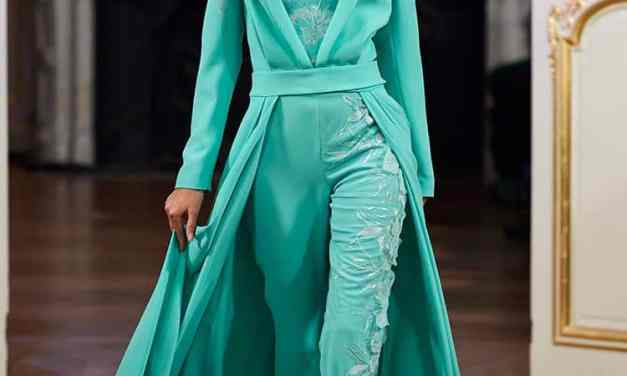 La Metamorphose – Couture Trousers And Taffeta