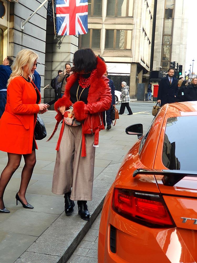 Audi TT London Ritz Hotel Pulse Oran
