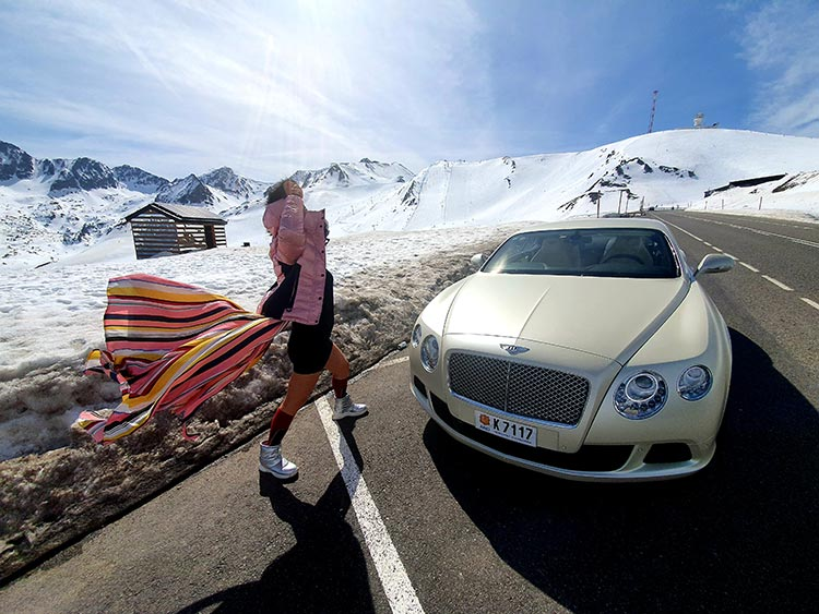 Gracie Opulanza Bentley GT Andorra 2020 Mountain Lifestyle (1)