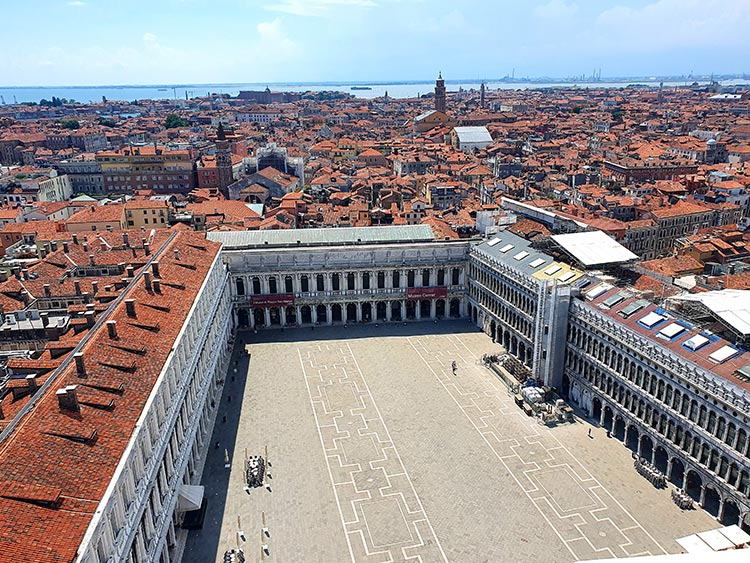 Sta Marco Square Venice Italy