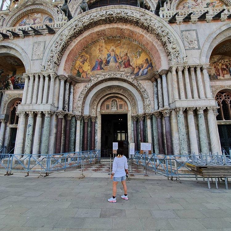 Venice St Marco Square 2020 Italy Gracie Opulanza Covid 19 (1)