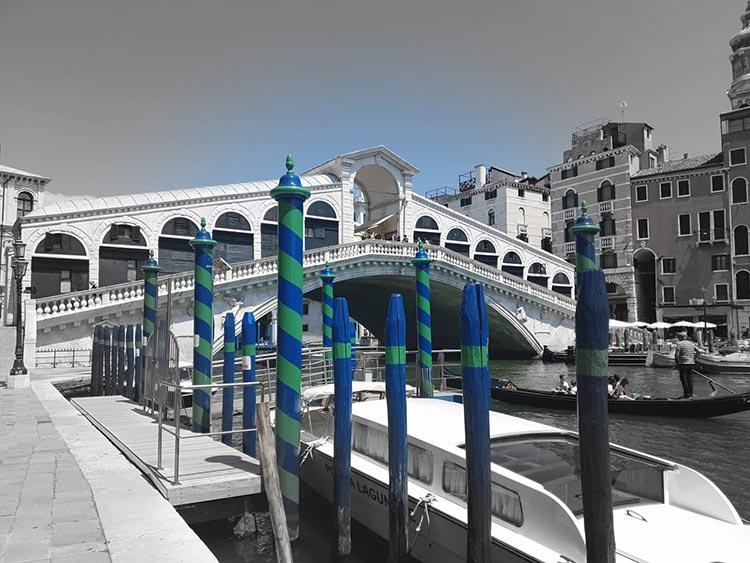 rialto bridge venice gracie opulanza 2020 covid 19