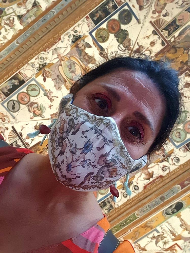 Masks Florence Italy - Uffizi Gallery Inspired Collection Angela Facchini Etsy (2)