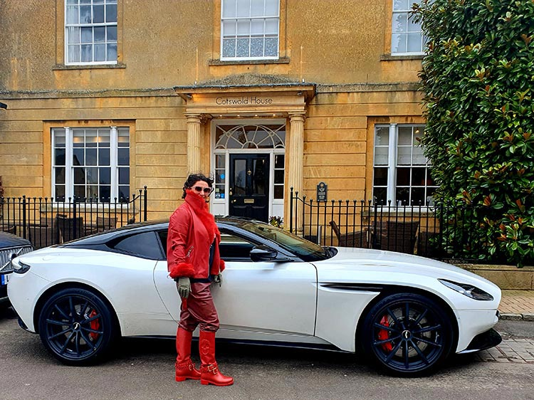 Aston Martin DB Cotswold's 2020 gracie opulanza leather trousers