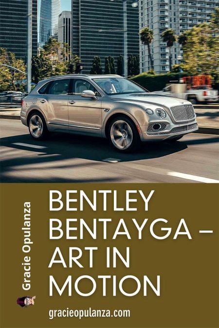Bentley Bentayga - Art In Motion