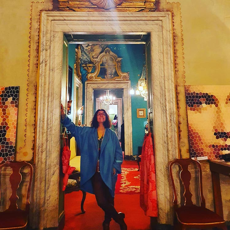 Atelier Ricci - Bespoke Cashmere Poncho lucca italy 2021 (3)