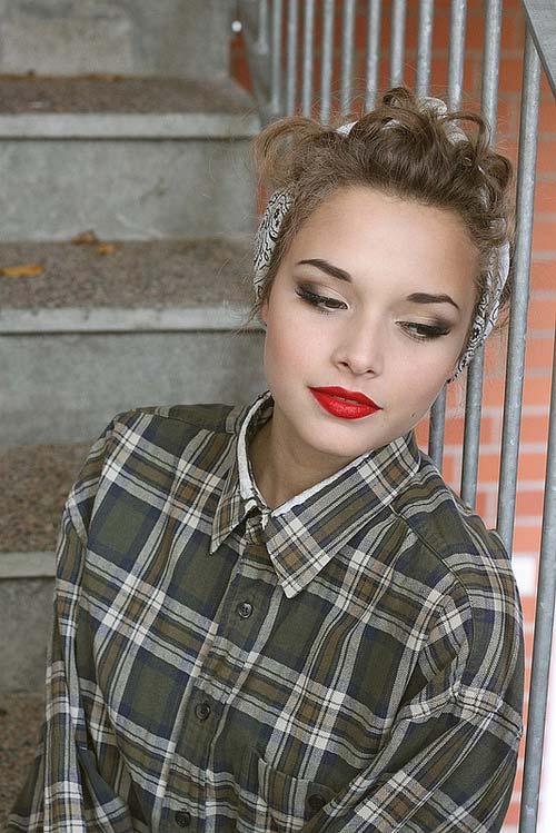 1950s vintage makeup