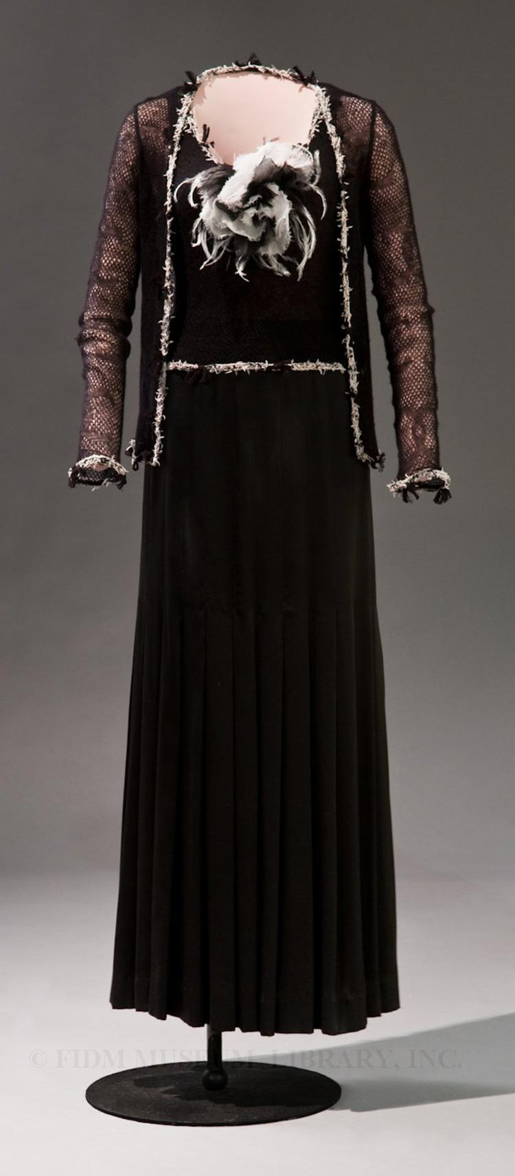Coco Chanel black dress