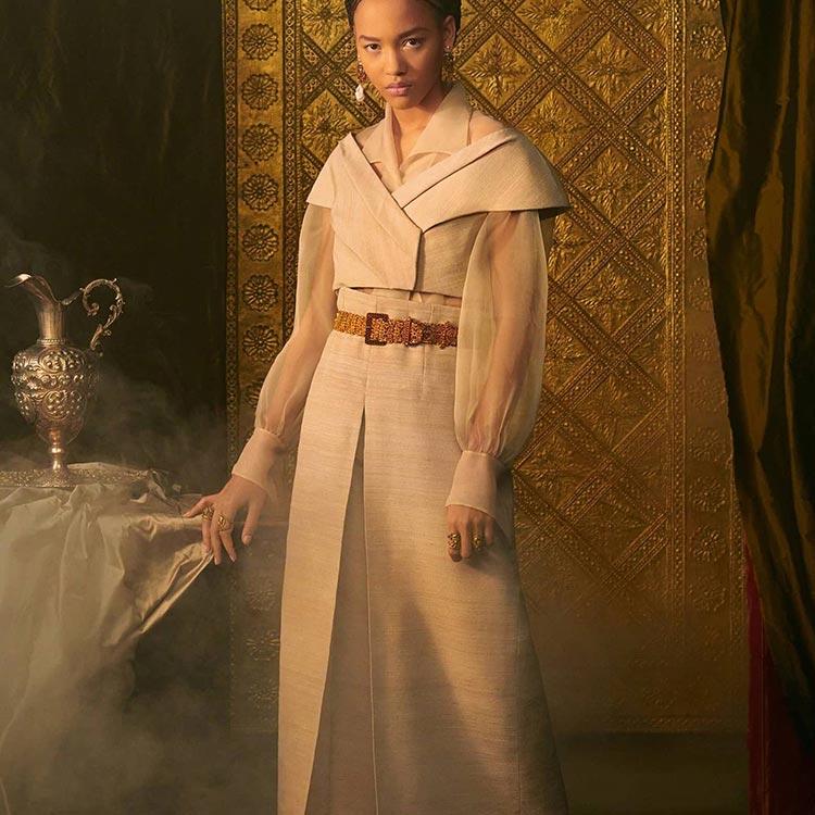 Bridgerton Dior 2021 summer dresses