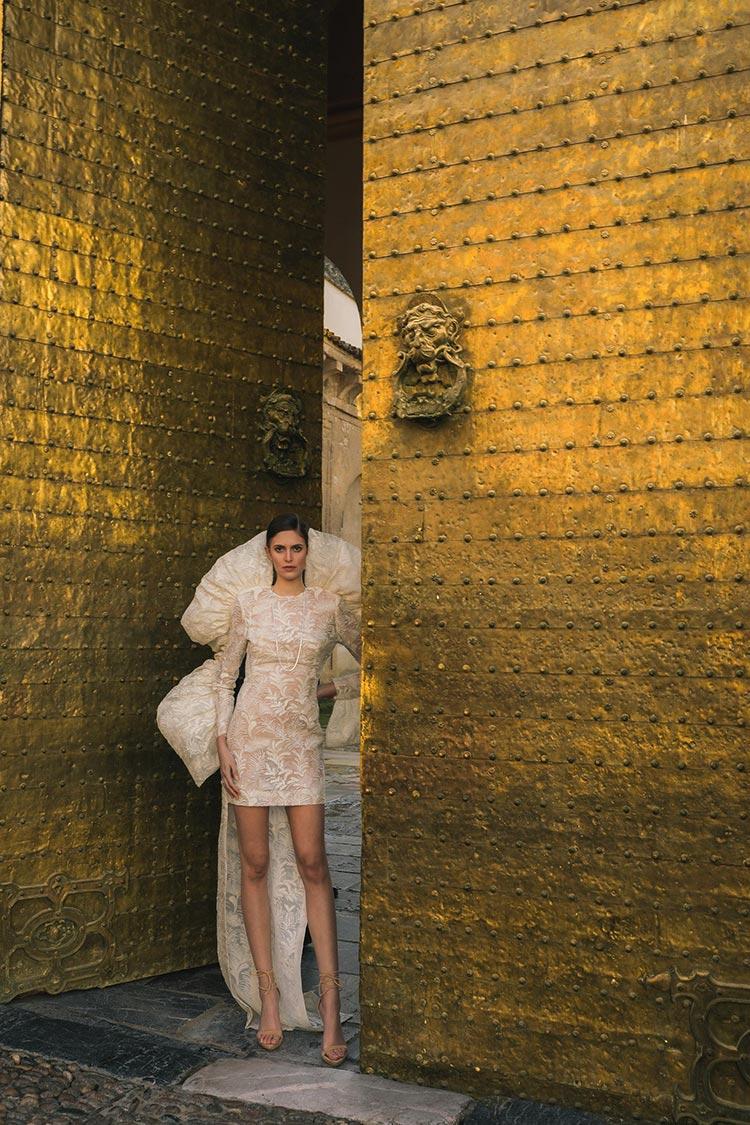 Juana Martín presents her SS21 collection « Córdoba, patrimonio de moda» (2) wedding