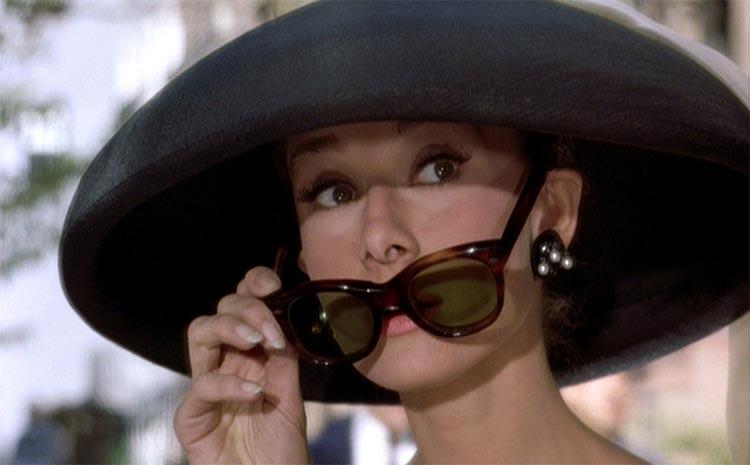 Oversize sunglasses Audrey hepburn
