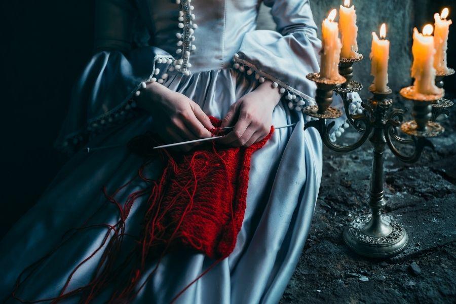 Victorian Shirt Blouse Returns Gracie Opulanza 2021 Netflix (4)