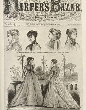 f Harper's Bazaar, Published November 1867