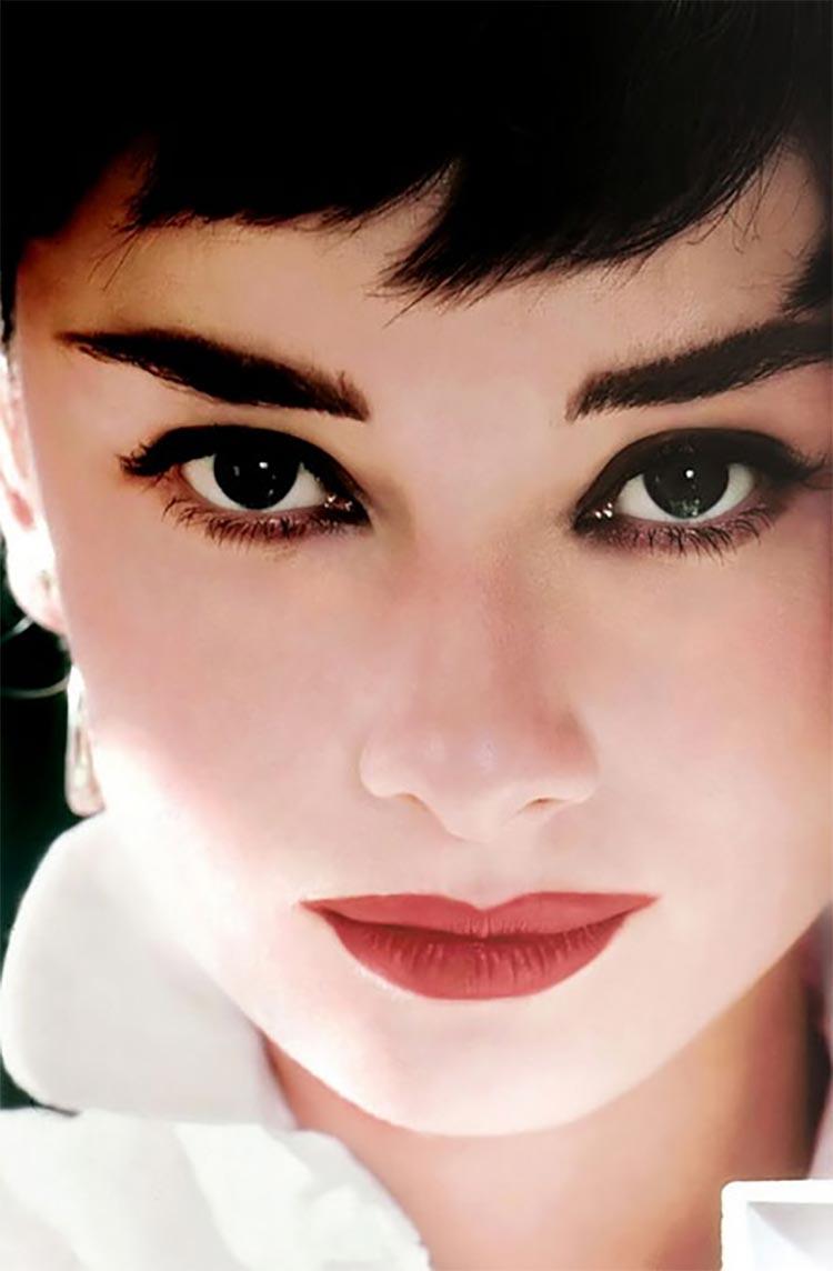 hair makeup audrey hepburn