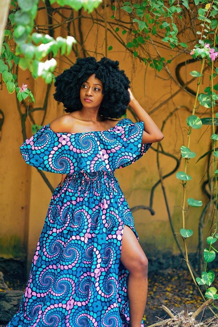 maxi dress 1970 vintage