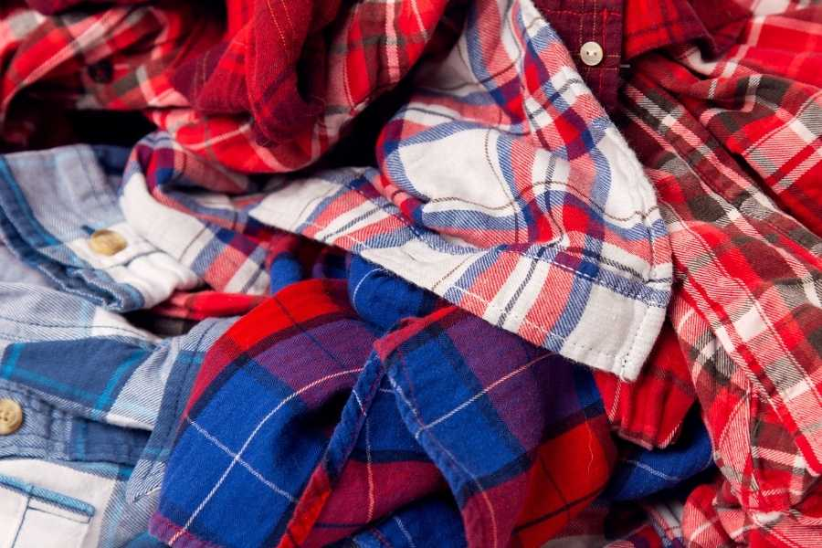 plaid blouses for women