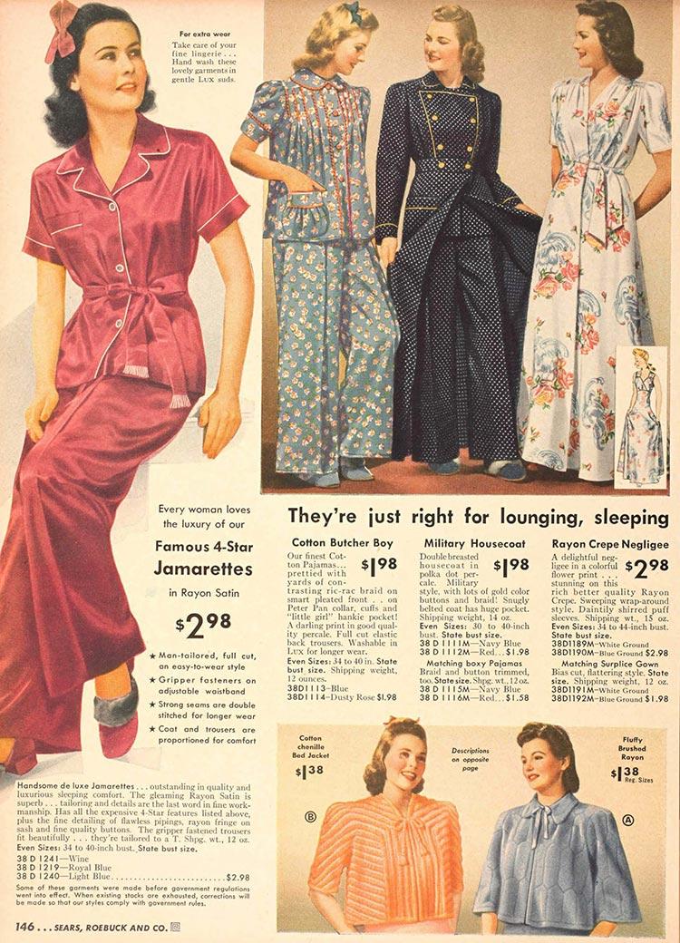 pyjamas 1932 beachwear