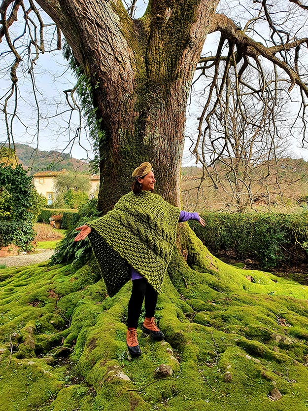 Green moss gracie opulanza Tuscany 2021 150 year old tree wool (4)