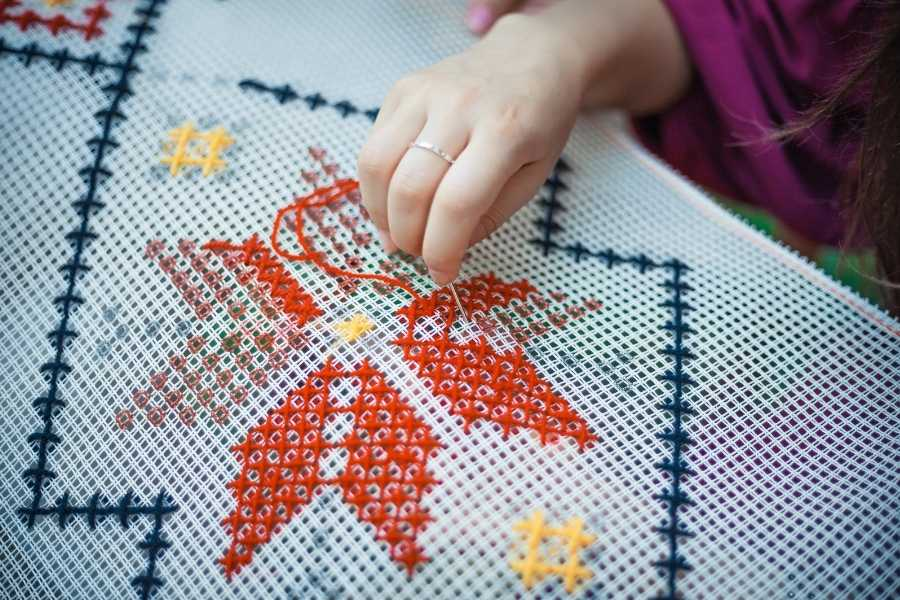 embroidery fashion upcycle