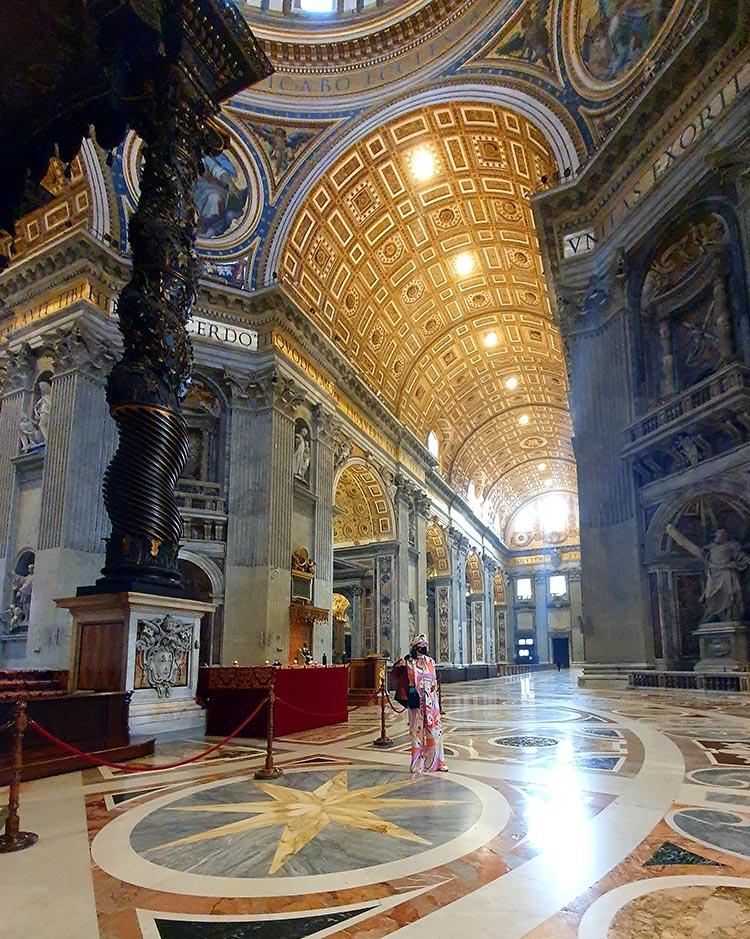 Vatican City St Peters Basilica Rome