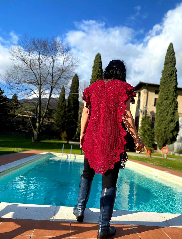 Hot New Patterns For Crocheting Sweaters And Knitwear Gracie Opulanza 2021 crotchet dress (2)