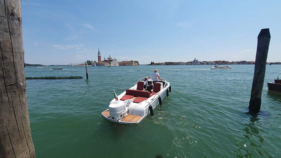 Candela Electric boat Venice 2021 Grand Canal
