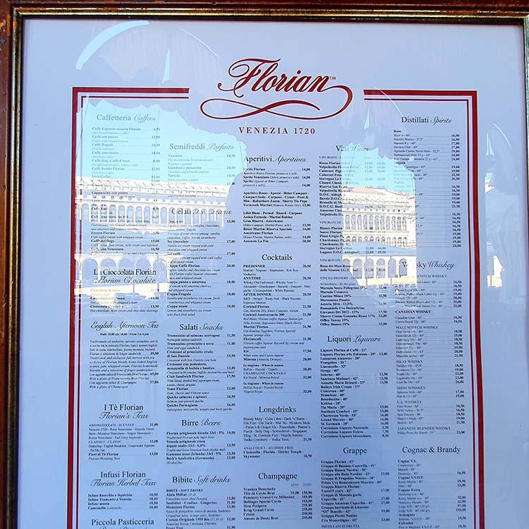 florian-cafe-venice-1720-menu