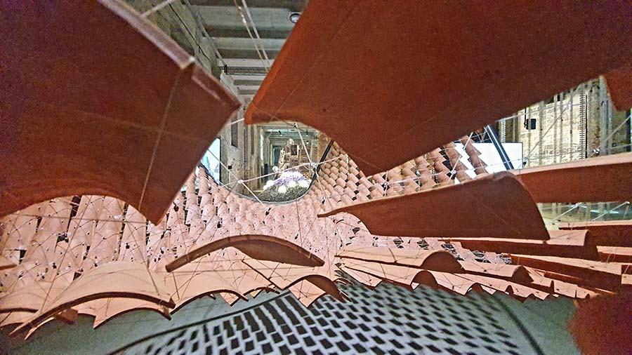 La Biennale Venice wood