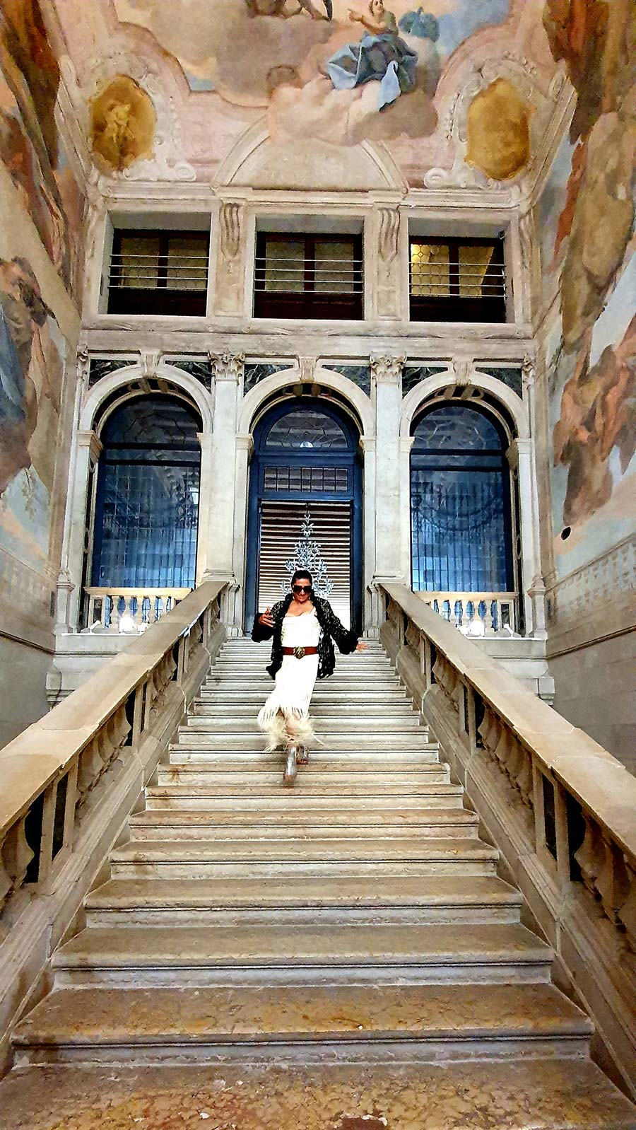Ca' Sagredo Hotel Ventian palazzo italy ( stair case Gracie Opulanza