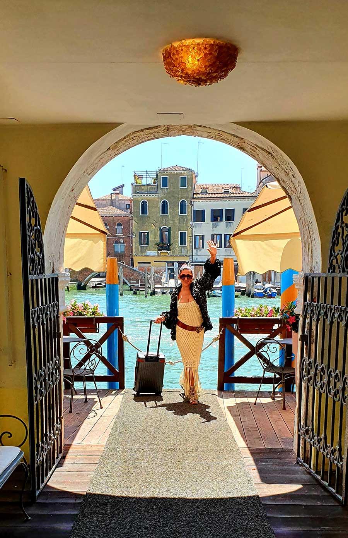 Ca sagredo palazzo Venice Italy Gracie Opulanza knitwear (4)