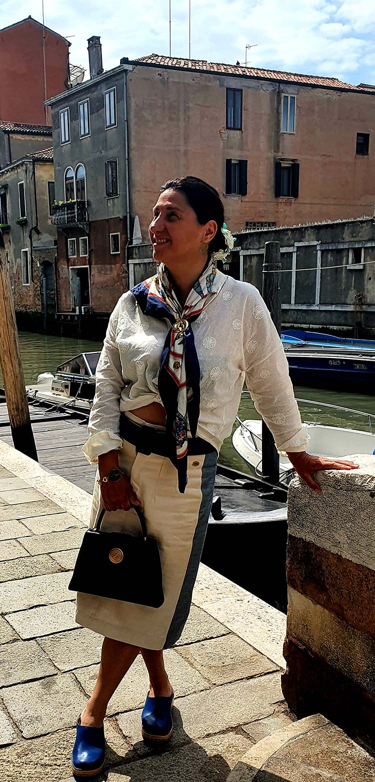 gracie-Opulanza-Yves-Saint-Laurent-Scarf-Hermes-Venice