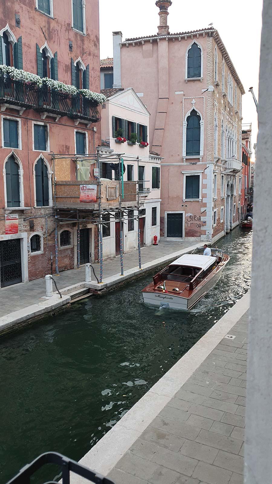 Riva Classic boat venice