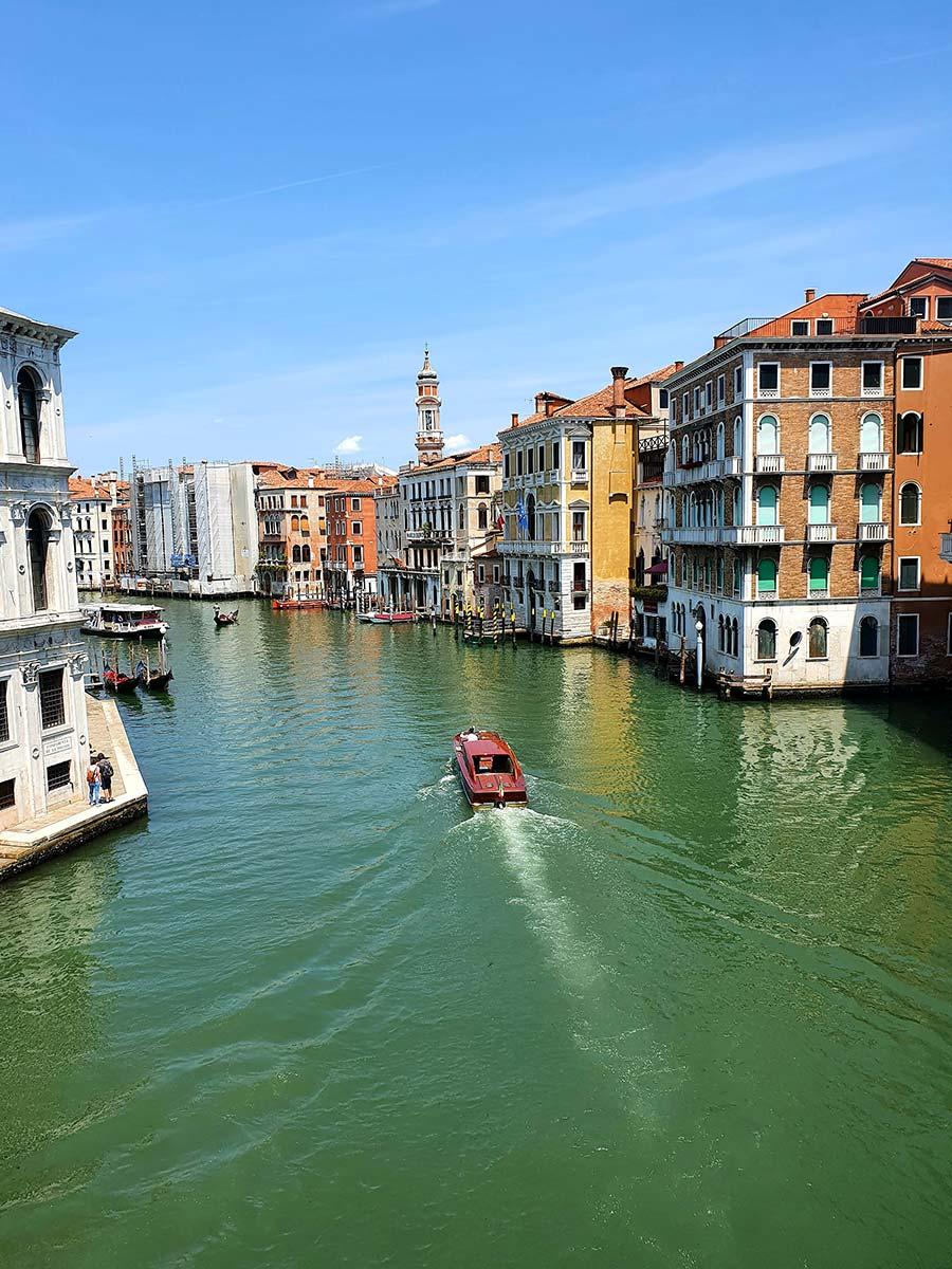 Grand Canal Rialto Bridge Venice